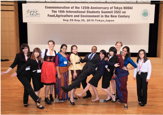Ms. IDKSD Ariyawanshe and Ms. MHR Abehayrathne participated in the 16th International Student Summit held in Tokyo University of Agriculture, Japan