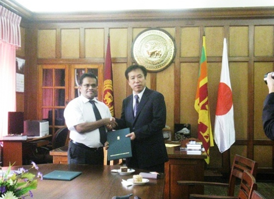 MOU singed between Tokyo University of Agriculture on 22nd July 2014.