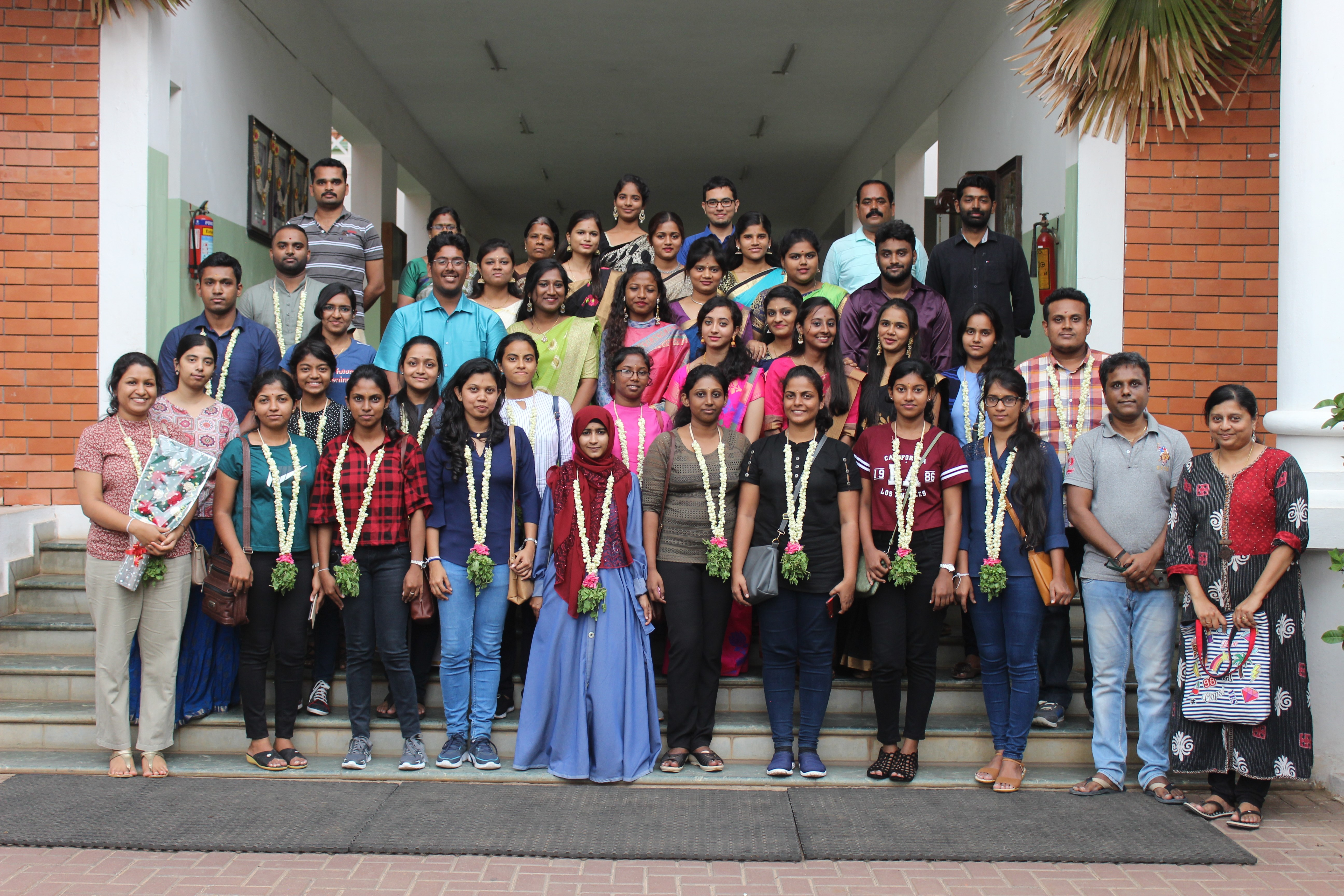 Final year student of the Department participated to the Rural Immersion Programme in India