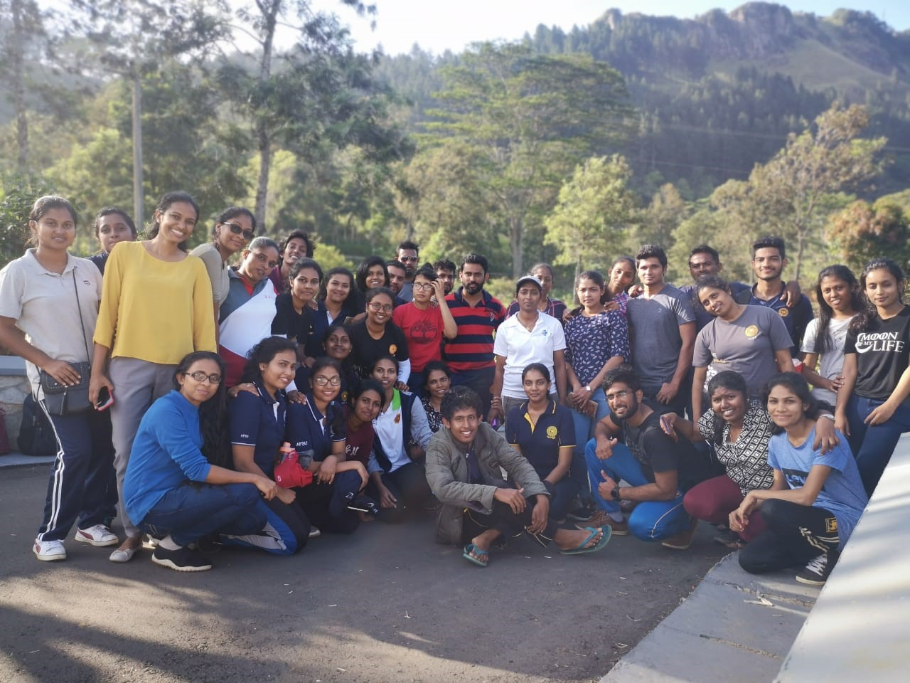 Outward-bound training program for new majoring students