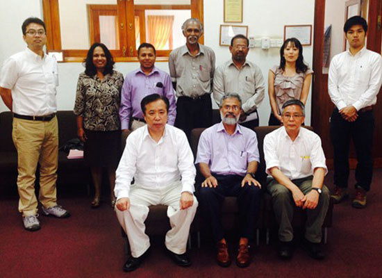 Tokyo University of Japan and Albion Company of Japan visited the Faculty